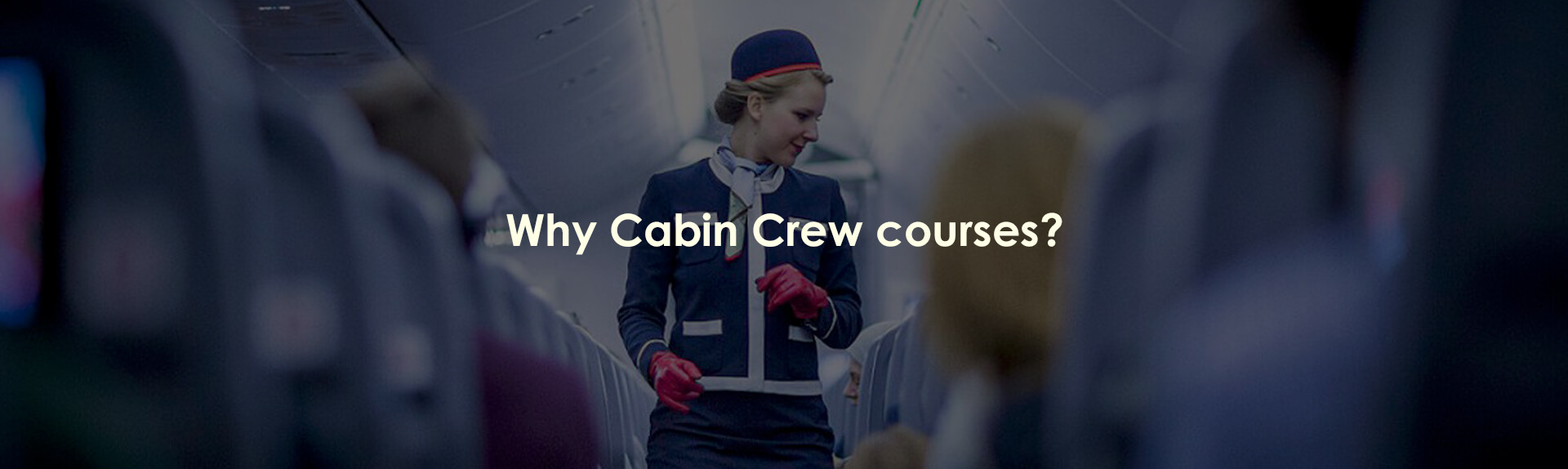 Why Cabin Crew courses?